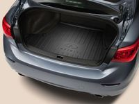 Infiniti Trunk Protector (Black With Infiniti Logo)(Includes Raised Perimeter) - 999C3-J2003