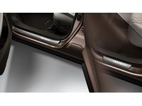 Infiniti QX50 INFINITI Radiant Illuminated Kick Plate  - Brown - T99G6-5NA5A