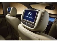 Infiniti FX35 Dual Head Restraint DVD (Wheat ) - 999U8-EV001