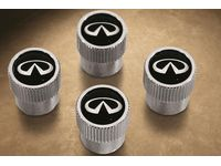 Infiniti Q50 Valve Stem Caps with Infiniti Logo - 999MB-YX000