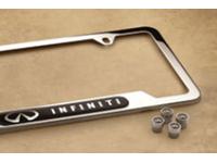 Chrome Finish 999MB-YV000 Genuine Infiniti License Plate Frame