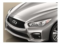 Infiniti Q50 Hybrid Grilles (Midnight Black Grille with AVM ) - F2310-4HB0A