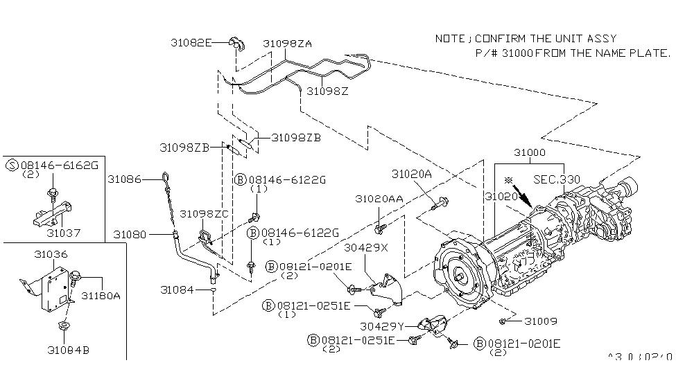 Outstanding 31020 44X75 Genuine Infiniti 3102044X75 Auto Transmission Wiring Digital Resources Funapmognl