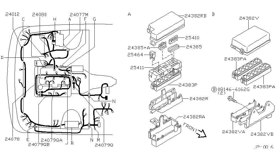 2002 infiniti qx4 wiring - infiniti parts deal on used infiniti qx4,  1997 infiniti qx4