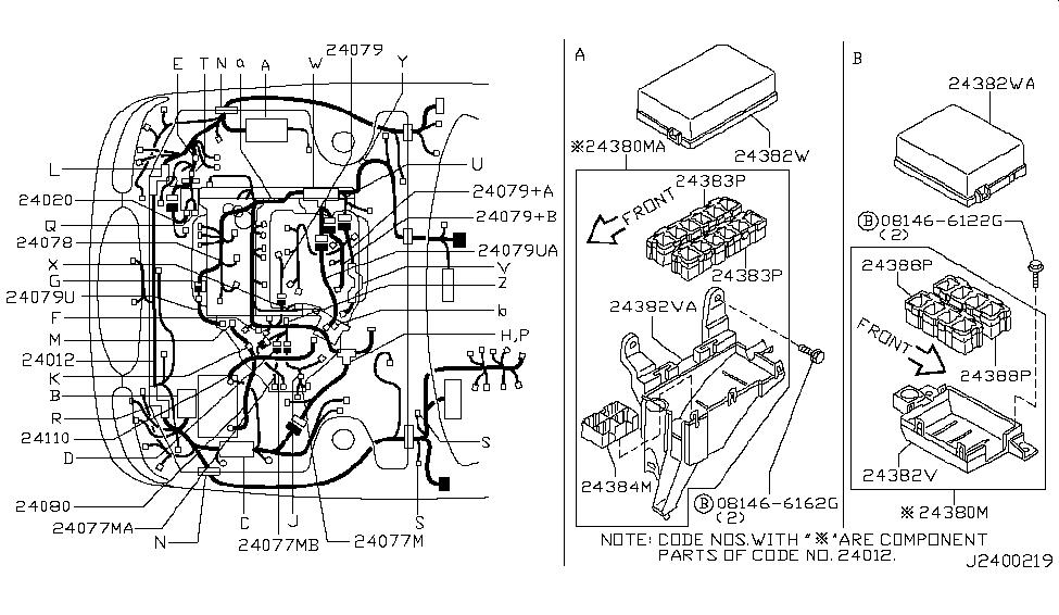 24012-3Y305 - Genuine Infiniti Parts