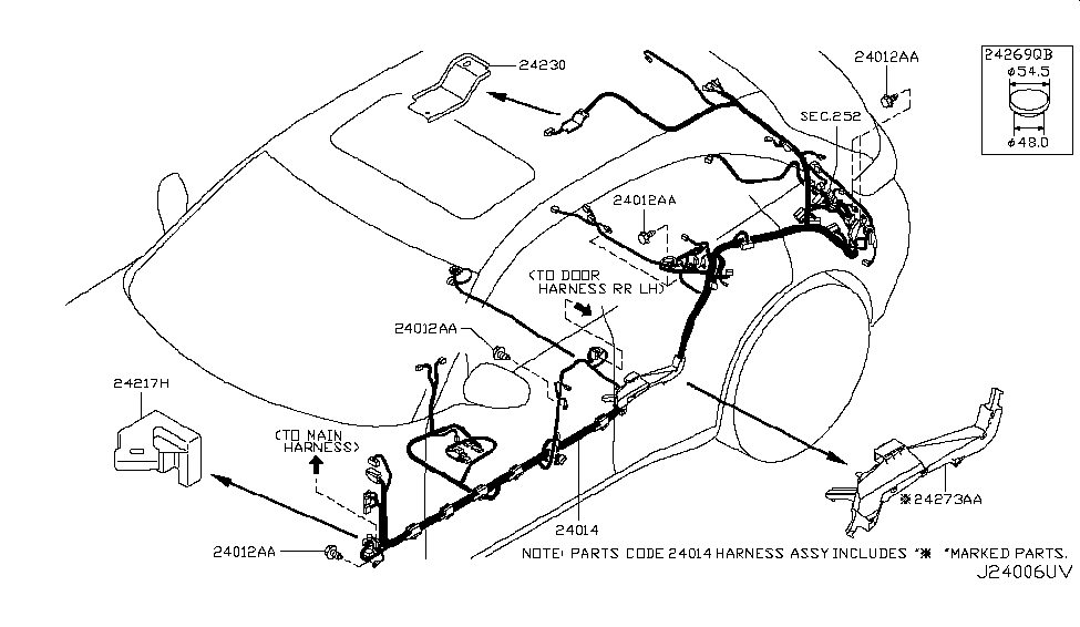 2012 infiniti fx35 wiring infiniti parts deal rh infinitipartsdeal com Jeep Tail Light Wiring Diagram Basic Tail Light Wiring Diagram