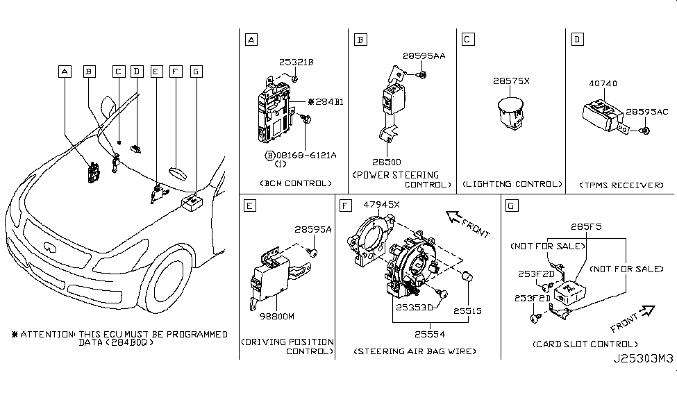 B55541NF0A  Genuine    Infiniti    Parts
