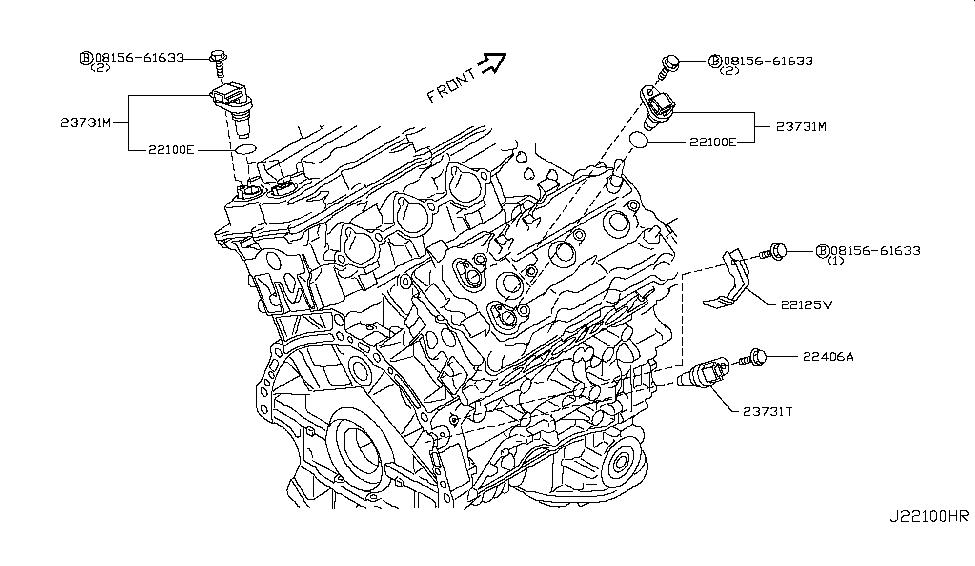 2007 infiniti g35 sedan distributor ignition timing sensor rh infinitipartsdeal com 2007 Infiniti G35 Sedan Parts 2007 Infiniti G35 Sedan Parts