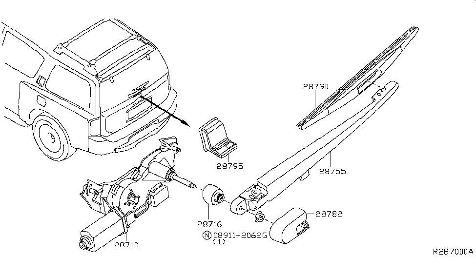 [SCHEMATICS_48EU]  2004 Infiniti QX56 Rear Window Wiper - Infiniti Parts Deal   Wiring Diagram Rear Wiper Qx56      Infiniti Parts