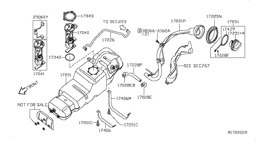 17040 Zq60c Genuine Infiniti 17040zq60c Pump Complete Fuel