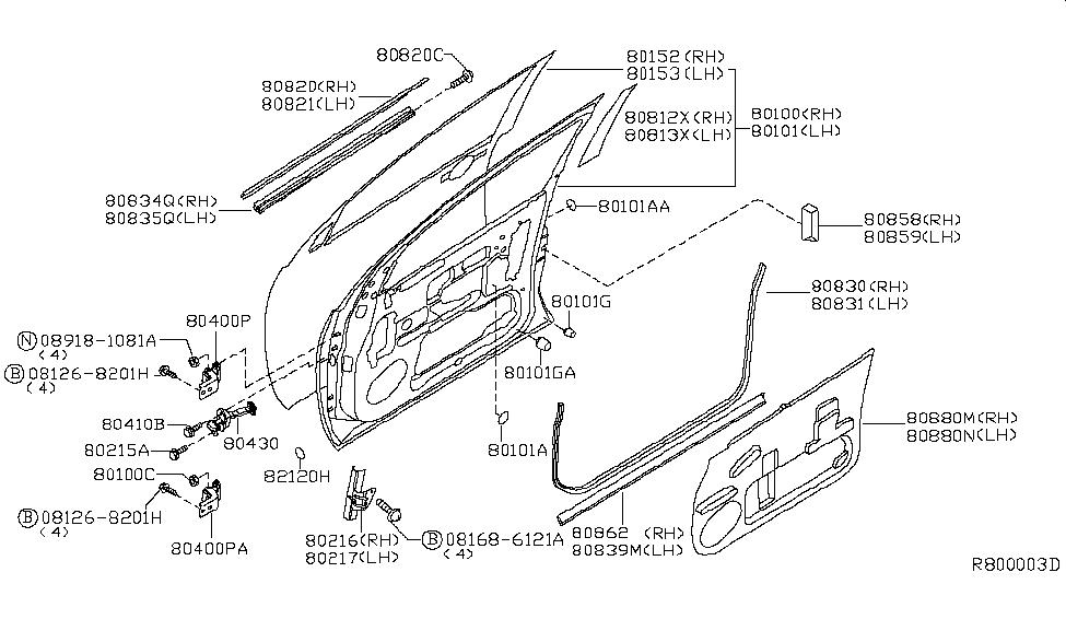 80821 Zc30a Genuine Infiniti Parts