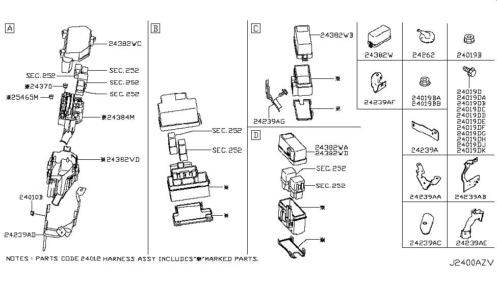 24388 4ga1d genuine infiniti parts. Black Bedroom Furniture Sets. Home Design Ideas