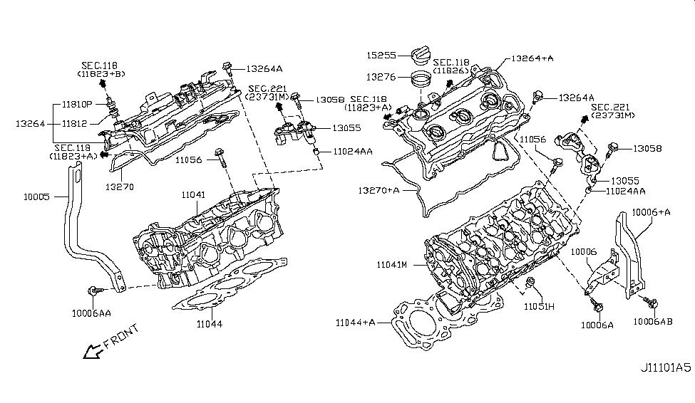 2008 infiniti ex35 cylinder head \u0026 rocker cover 2008 BMW X5 Engine Diagram 2008 infiniti ex35 cylinder head \u0026 rocker cover thumbnail 1
