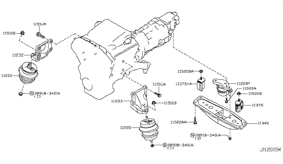 Incredible 2012 Infiniti G37 Coupe Engine Transmission Mounting Wiring Digital Resources Funapmognl