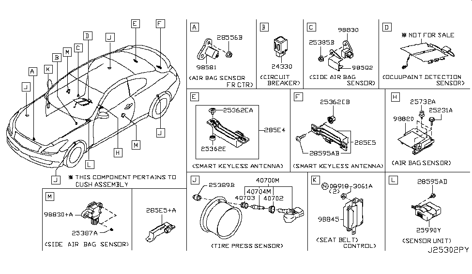 infiniti k8h30 1gz0a air tool diagrams infiniti air bag schematic diagram #8