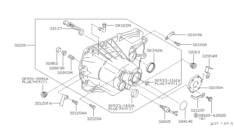 1994 infiniti g20 engine diagram