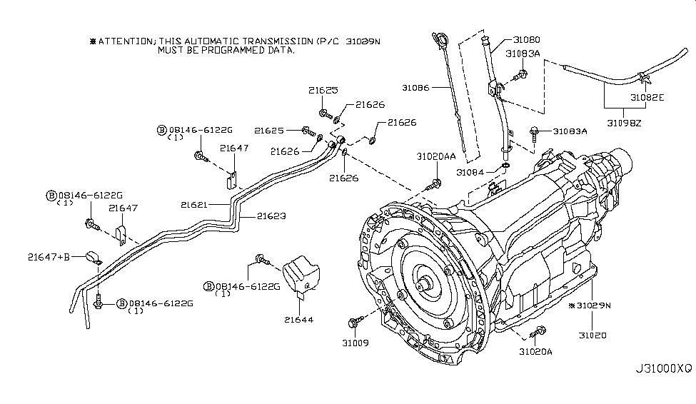Brilliant 2006 Infiniti M45 Auto Transmission Transaxle Fitting Wiring Digital Resources Funapmognl