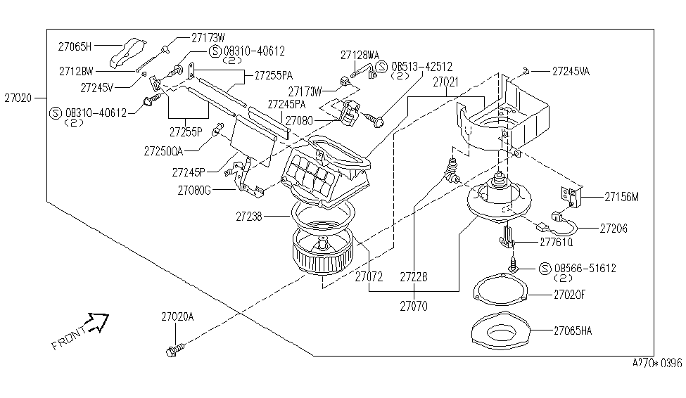 infiniti j30 hose diagram