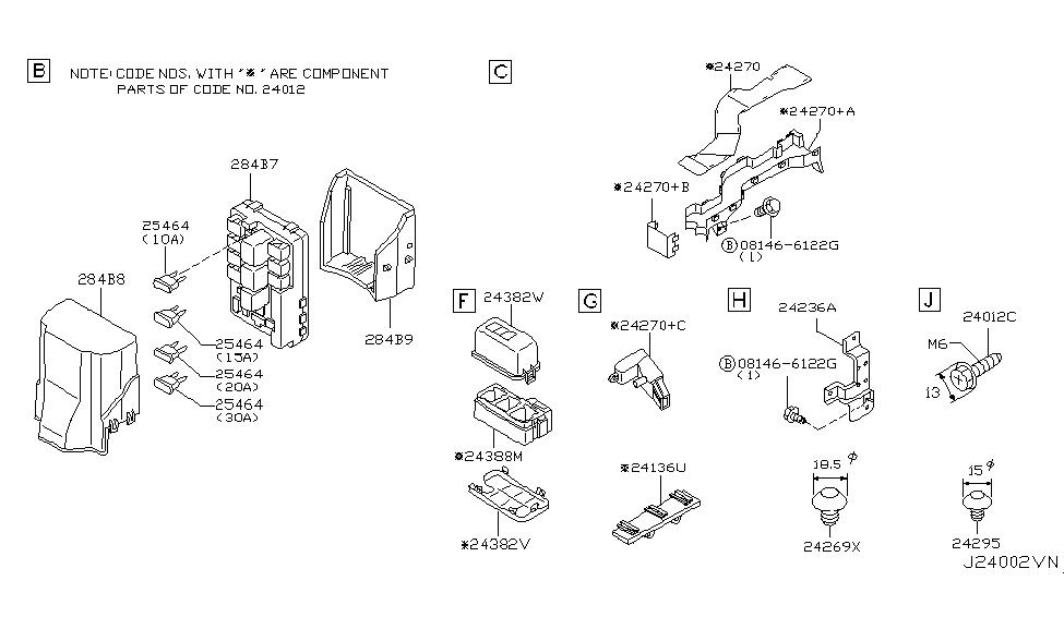 284b7 cl00a genuine infiniti 284b7cl00a controller unit usm. Black Bedroom Furniture Sets. Home Design Ideas