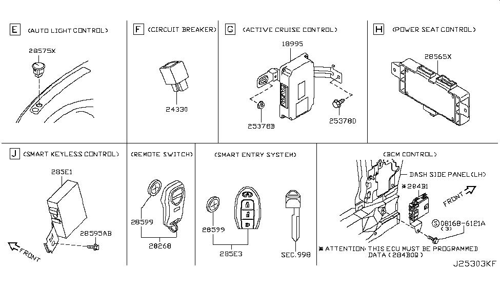 [SCHEMATICS_48YU]  18995-8Y90A - Genuine Infiniti Parts | Infiniti Cruise Control Diagram |  | Genuine Infiniti Parts