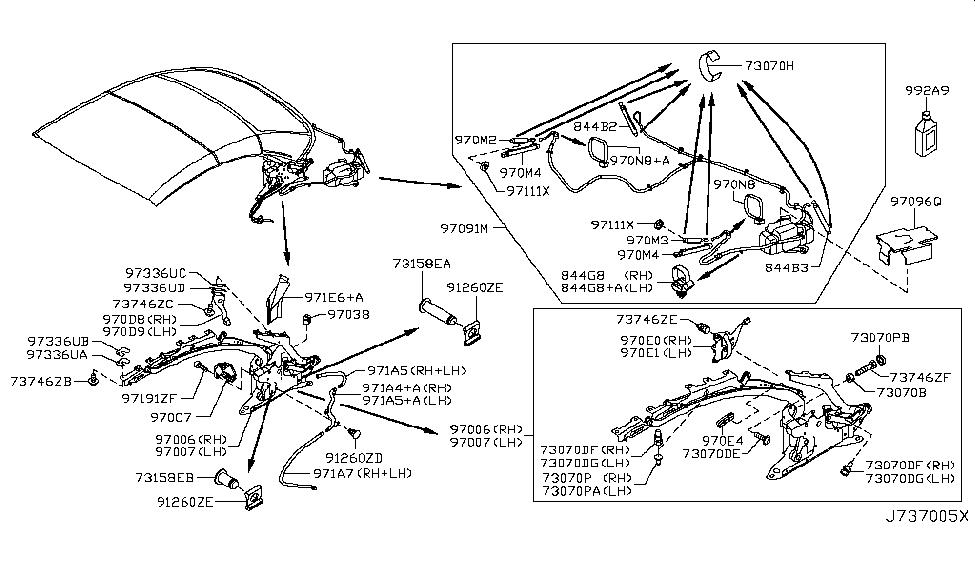 970e0 jj50a genuine infiniti parts rh infinitipartsdeal com infiniti g37 parts diagram infiniti fx35 parts diagram