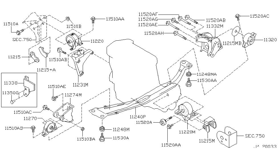 11210-2J200 - Genuine Infiniti Parts