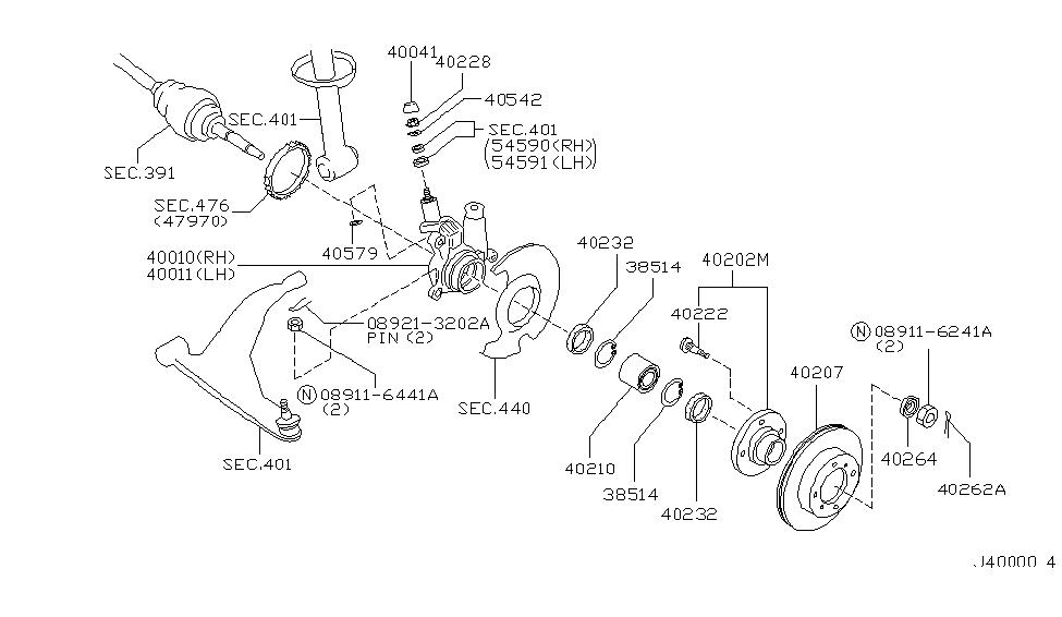 96 Infiniti G20 Engine Diagram