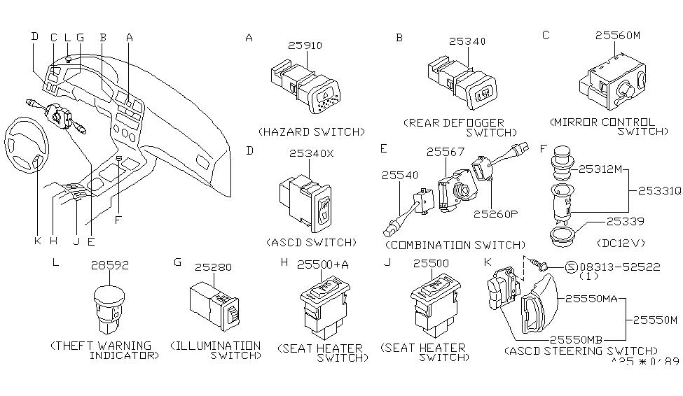 28592-7J100 - Genuine Infiniti Parts