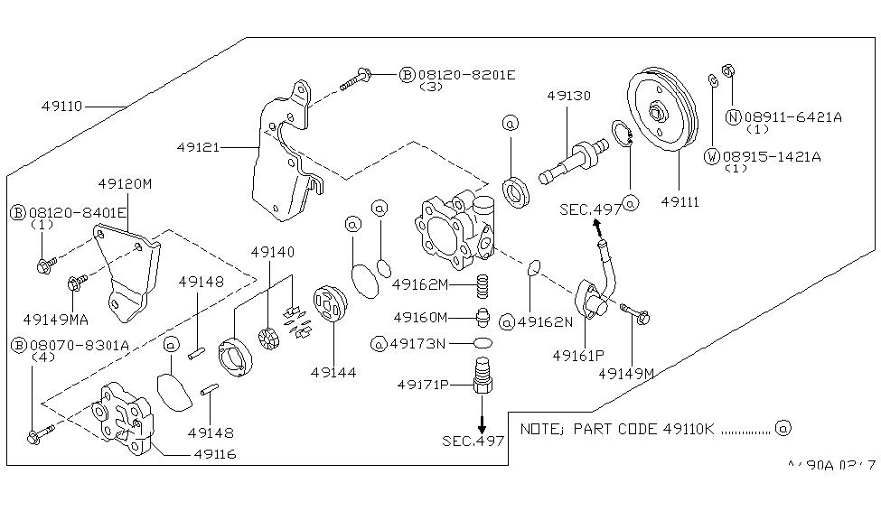 49164 0e000 genuine infiniti parts. Black Bedroom Furniture Sets. Home Design Ideas