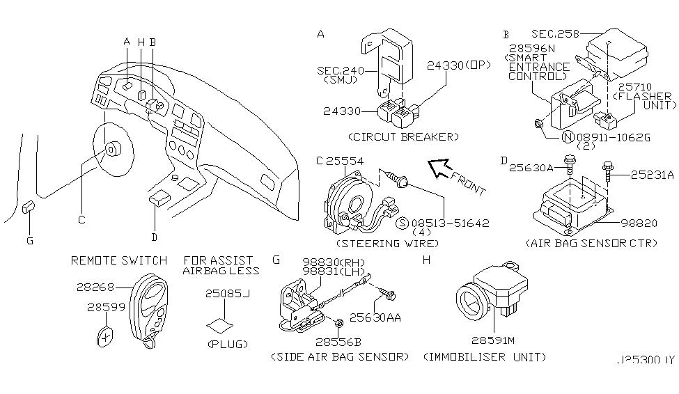 2001 Infiniti Qx4 Exhaust System Diagram 2001 Circuit Diagrams