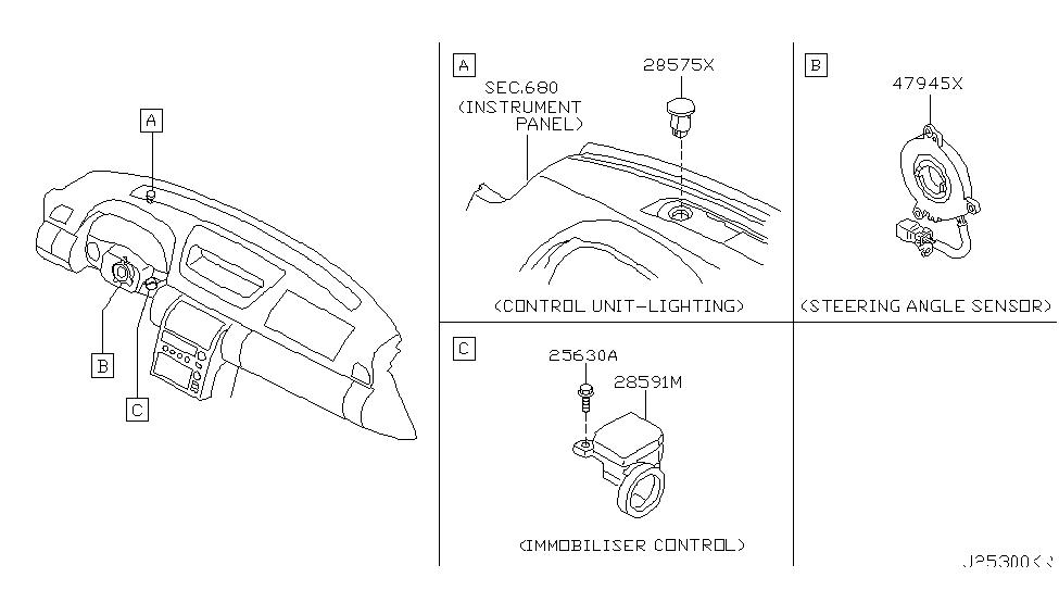 2005 Infiniti G35 Coupe Electrical Unit - Infiniti Parts Deal
