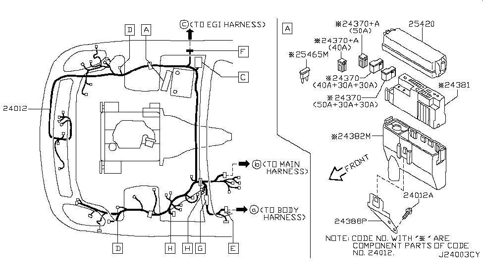 2005 Infiniti G35 Coupe Wiring - Infiniti Parts Deal