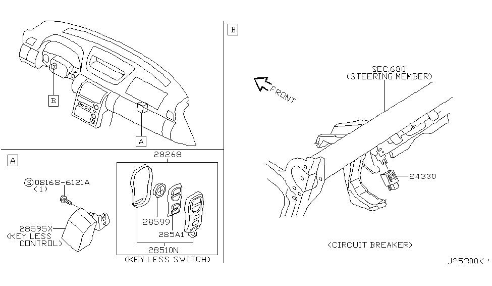 2003 infiniti g35 parts diagram