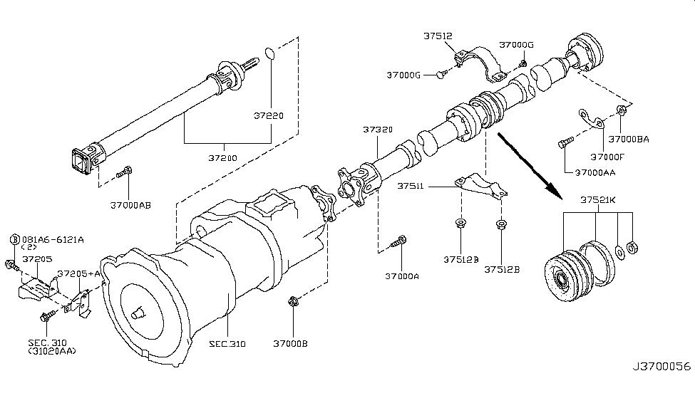 infiniti g35 engine wiring diagram 37200 cg100 genuine infiniti parts
