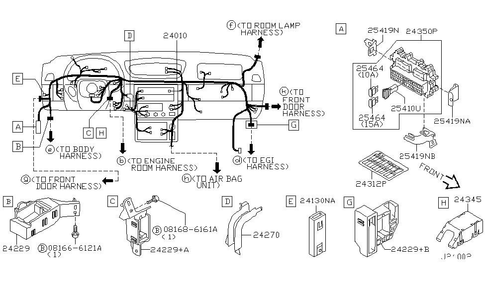 2003 infiniti g35 coupe wiring infiniti parts deal rh infinitipartsdeal com Infiniti G35 Radio Wiring Diagram Infiniti G35 ECM Location