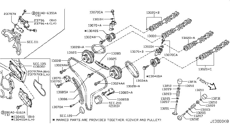 13070 al505 genuine infiniti 13070al505 tensioner chain 2003 infiniti g35 fuse diagram