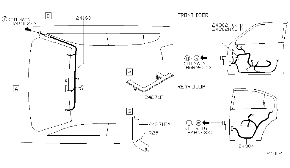 2004 Infiniti G35 Wiring - Infiniti Parts Deal on