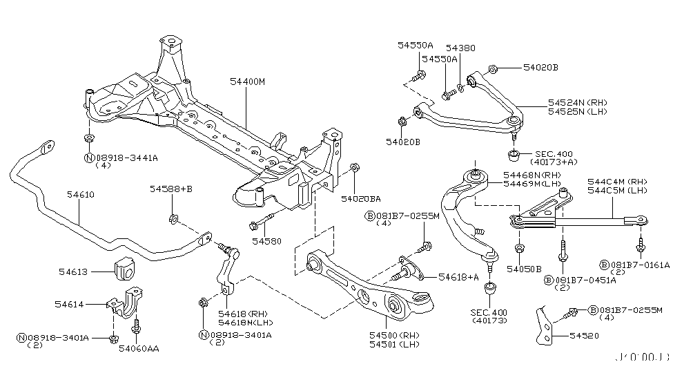 2004 infiniti g35 sedan front suspension diagram on