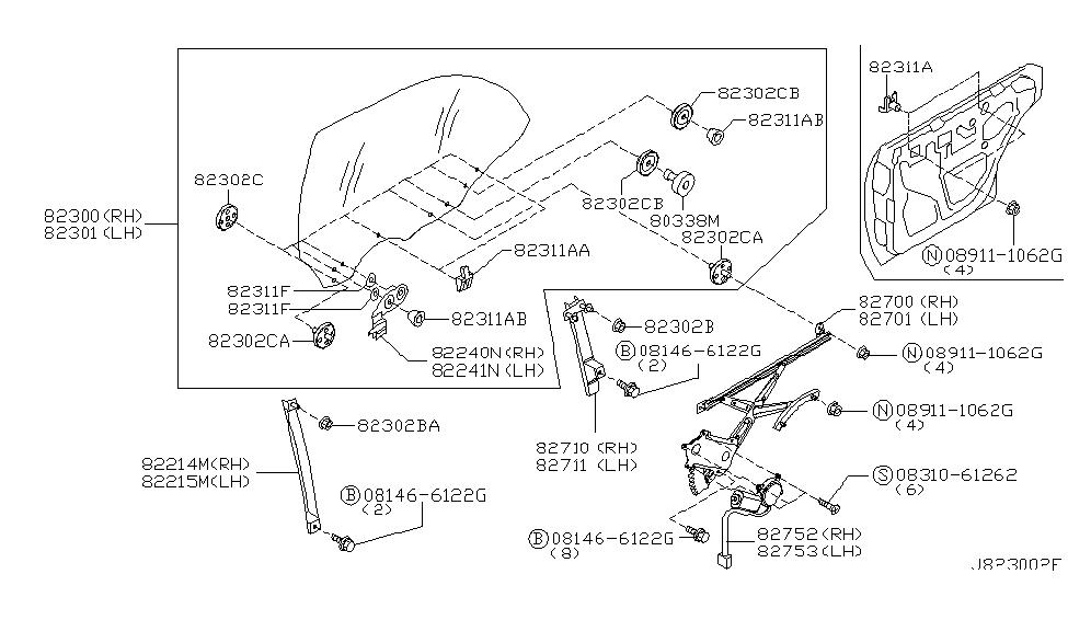 2000 infiniti i30 engine diagram infiniti m45 engine diagram 82731-ag011 - genuine infiniti parts