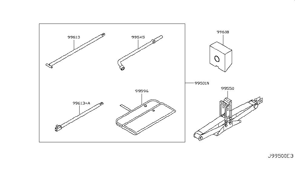 2016 Infiniti QX80 Tool Kit & Maintenance Manual