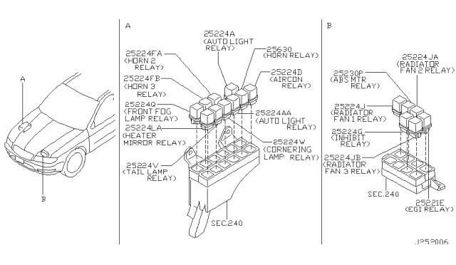 [SCHEMATICS_4ER]  2000 Infiniti I30 Relay - Infiniti Parts Deal   Infiniti I30 Engine Wiring Diagram      Infiniti Parts