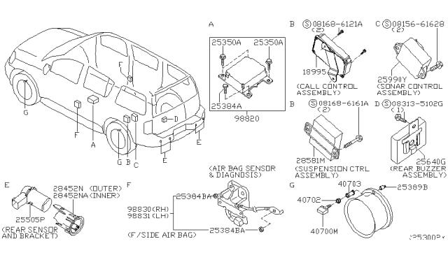 [DIAGRAM_0HG]  18995-7S305 - Genuine Infiniti Parts | Infiniti Cruise Control Diagram |  | Infiniti Parts