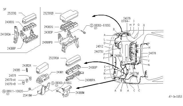 wiring - 1993 infiniti g20  infiniti parts