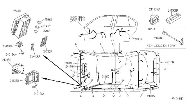 1995 Infiniti G20 Wiring Infiniti Parts Deal