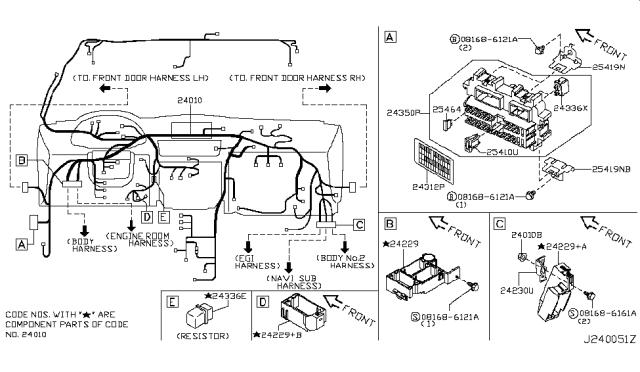 2006 Infiniti M35 Wiring Infiniti Parts Deal