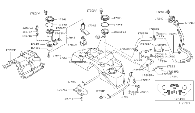 25060-CD00A - Genuine Infiniti PartsInfiniti Parts