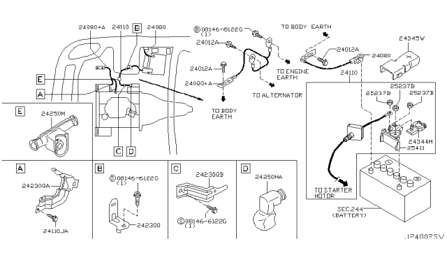 Diagram  2005 Infiniti G35 Ignition Wiring Diagram