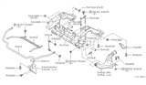 Diagram for Infiniti Sway Bar Bushing - 54613-4P007