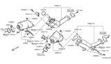 Diagram for Infiniti Catalytic Converter - B08B2-4GB0B