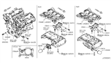Diagram for Infiniti Oil Filter - 15208-HG00D